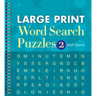 Large Print Word Search Puzzles 2 (BOK)
