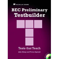BEC Preliminary Testbuilder with Answer Key and Audio CDs B1 (BOK)