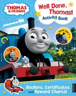 Thomas & Friends: Well Done, Thomas! Activity Book (BOK)