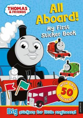 Thomas the Tank Engine All Aboard! My First Sticker Book (BOK)