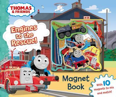 Thomas & Friends: Engines to the Rescue! Magnet Book (BOK)