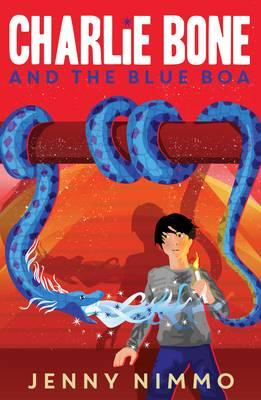 Charlie Bone and the Blue Boa (BOK)