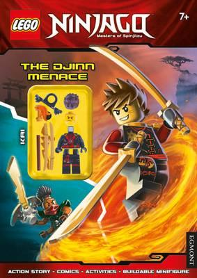 LEGO (R) Ninjago: The Djinn Menace (Activity Book with Minif (BOK)