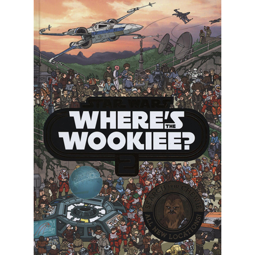 Star Wars Where's the Wookiee 2 Search and Find Activity Boo (BOK)