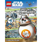 LEGO Star Wars: Spot the Galactic Heroes a Search-and-Find B (BOK)