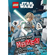 LEGO (R) Star Wars: Book of Mazes (Mazes Sticker Book) (BOK)