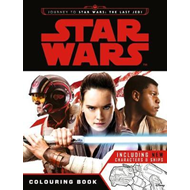 Star Wars: Journey to The Last Jedi Colouring Book (BOK)