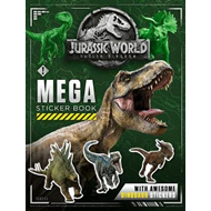 Jurassic World Fallen Kingdom Mega Sticker Book (BOK)