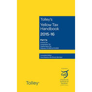 Tolley's Yellow Tax Handbook 2015-16 (BOK)