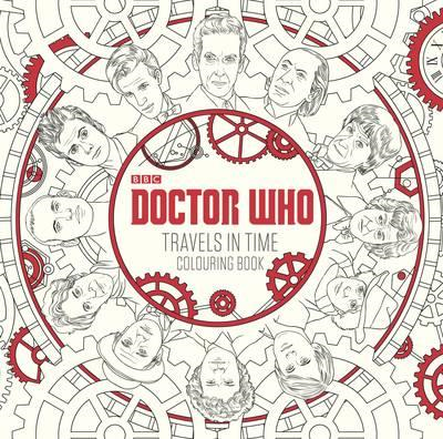 Doctor Who: Travels in Time Colouring Book (BOK)