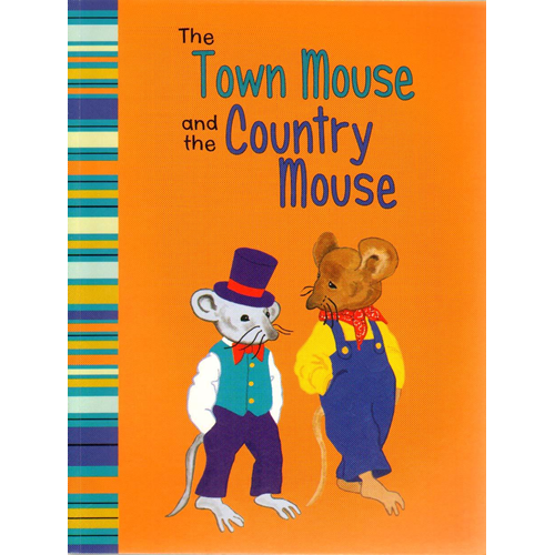 The Town Mouse and The Country Mouse: A Retelling of Aesop's Fable (BOK)