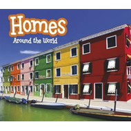 Produktbilde for Homes Around the World (BOK)