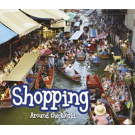 Produktbilde for Shopping Around the World (BOK)