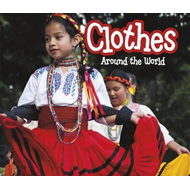Produktbilde for Clothes Around the World (BOK)