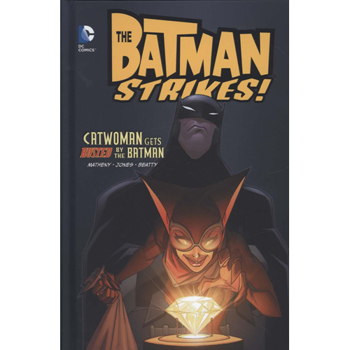 Catwoman gets busted by the Batman (BOK)