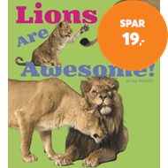 Produktbilde for Lions Are Awesome! (BOK)