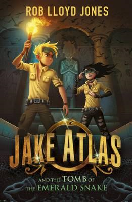 Jake Atlas and the Tomb of the Emerald Snake (BOK)