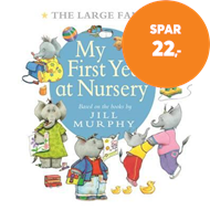 Produktbilde for The Large Family: My First Year at Nursery (BOK)