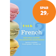 Produktbilde for Talk French 2 (Book/CD Pack) - The ideal course for improving your French (BOK)