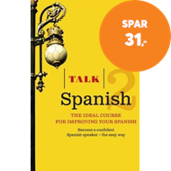 Produktbilde for Talk Spanish 2 (Book/CD Pack) - The ideal course for improving your Spanish (BOK)