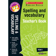 Spelling and Vocabulary Teacher's Book (Year 1) (BOK)