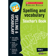 Spelling and Vocabulary Teacher's Book (Year 3) (BOK)
