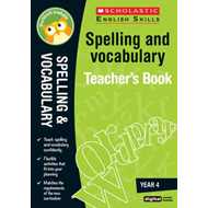 Spelling and Vocabulary Teacher's Book (Year 4) (BOK)