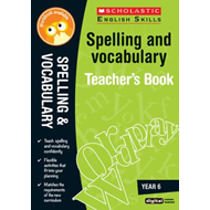Spelling and Vocabulary Teacher's Book (Year 6) (BOK)