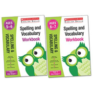 Spelling and Vocabulary Workbook (Year 1) (BOK)