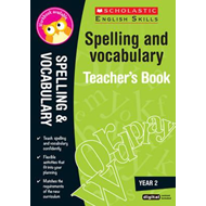 Spelling and Vocabulary Teacher's Book (Year 2) (BOK)