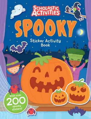 Spooky Sticker Activity Book (BOK)