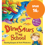 Produktbilde for Dinosaurs in My School (BOK)