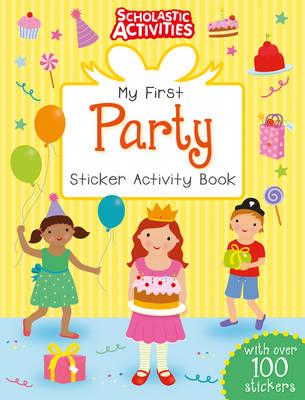 My First Party Sticker Activity Book (BOK)