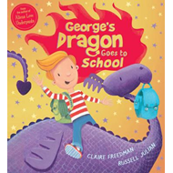 Produktbilde for George's Dragon Goes to School (BOK)