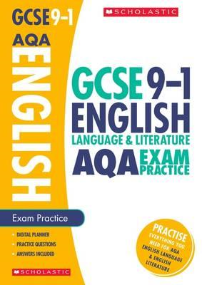 English Language and Literature Exam Practice Book for AQA (BOK)