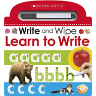 Write and Wipe: Learn to Write (BOK)