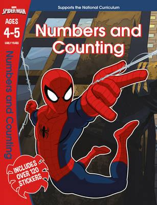 Spider-Man: Numbers and Counting, Ages 4-5 (BOK)