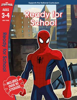 Spider-Man: Ready for School, Ages 3-4 (BOK)