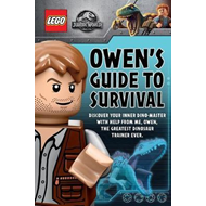 Produktbilde for LEGO  Jurassic World: Owen's Guide to Survival plus Dinosaur Disaster! (BOK)