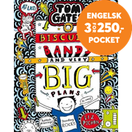 Produktbilde for Tom Gates: Biscuits, Bands and Very Big Plans (BOK)