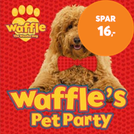 Produktbilde for Waffle's Pet Party (BOK)