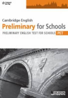 Practice Tests for Cambridge PET for Schools (BOK)