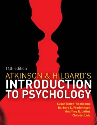 Atkinson & Hilgard's Introduction to Psychology (BOK)