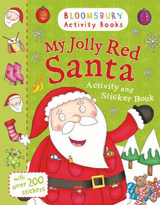 My Jolly Red Santa Activity and Sticker Book (BOK)
