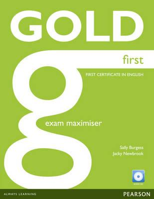 Gold First Maximiser without Key and Audio CD Pack (BOK)