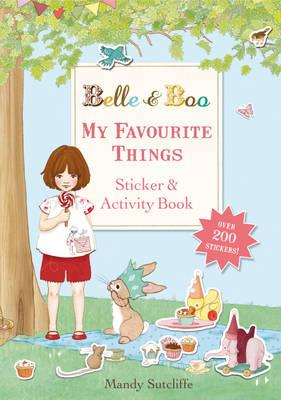 My Favourite Things: A Sticker and Activity Book (BOK)