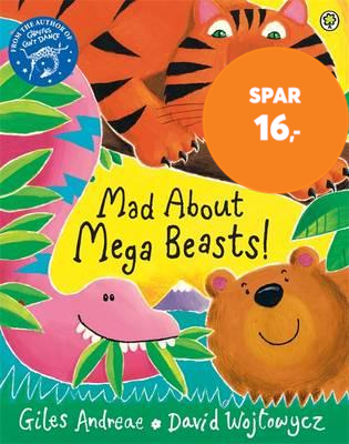 Mad About Mega Beasts! (BOK)