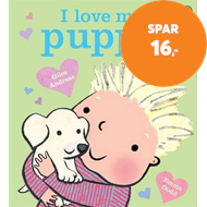 Produktbilde for I Love My Puppy (BOK)