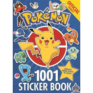 Official Pokemon 1001 Sticker Book (BOK)