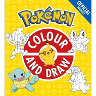 Produktbilde for Official Pokemon Colour and Draw (BOK)